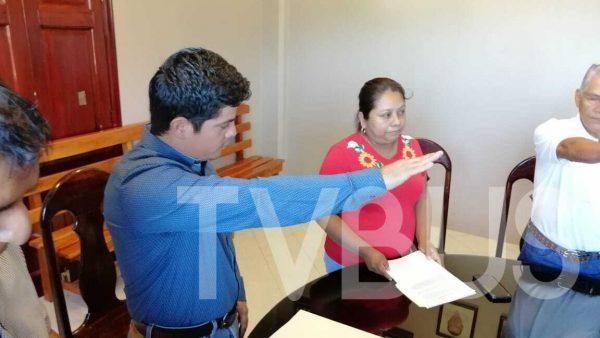 Toma protesta Jesús García como nuevo Presidente de Jalapa de Díaz