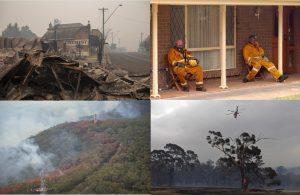 El ejército de Australia evacúa a miles de habitantes y turistas: el fuego está incontrolable