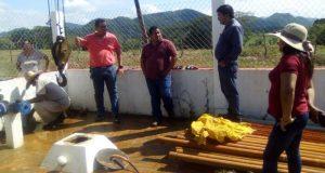 Gobierno de Chiltepec trabaja en mantenimiento de bombas y pozos profundos de agua potable