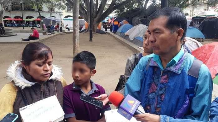 Denuncian falta de atención en hospital civil de Oaxaca, un menor está a punto de perder la vista