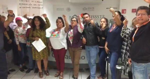 Denuncian maestros de la Sección 22 millonario fraude del FOVISSSTE