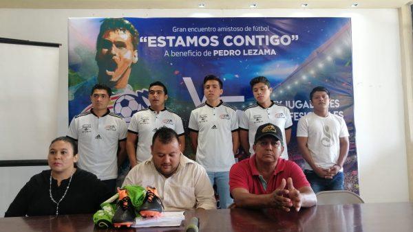 Juego a beneficio de Pedro Lezama, Conejos Tuxtepec VS Ex Jugadores Profesionales