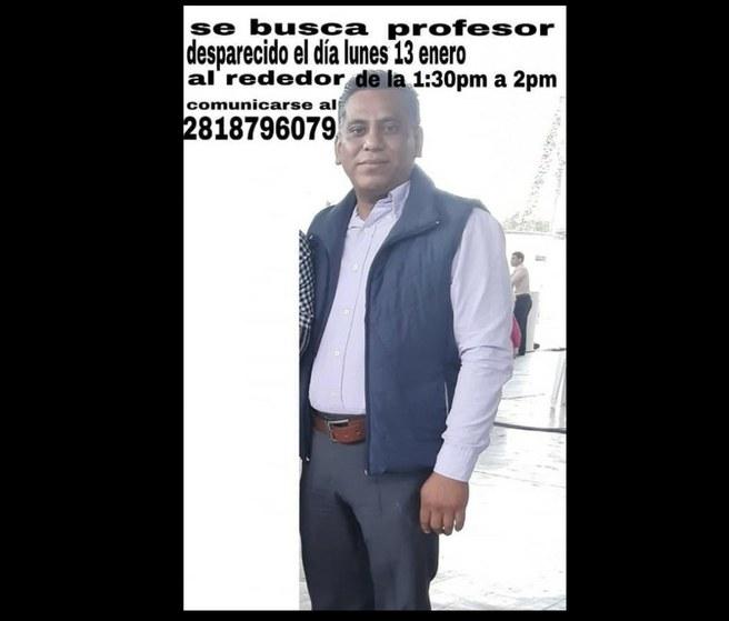 Reportan desaparecido a profesor de la CNTE en Oaxaca