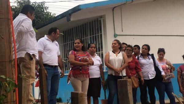 Inaugura Laura Estrada obras realizadas con gestión social