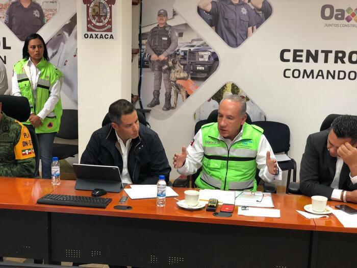 Realizan macro simulacro en Oaxaca