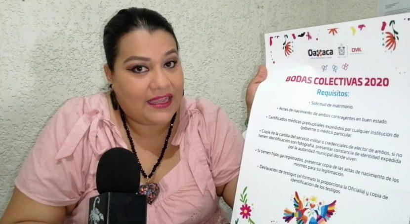 Listo Valle Nacional para el matrimonio igualitario: Registro Civil