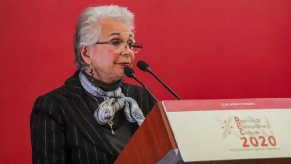 Sánchez Cordero admite fracaso económico en 2019