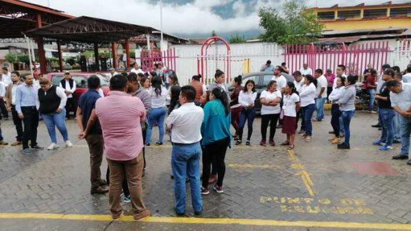 Con macro simulacro, piden a los vallenses tomar conciencia ante posible catástrofe
