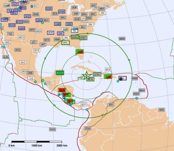 Fuerte sismo de magnitud de 7.3, golpea a Jamaica y Cuba