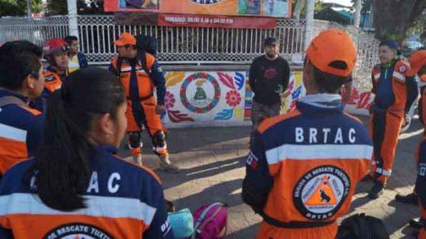 Piden a la población a sumarse a la Brigada de Rescate de Tuxtepec