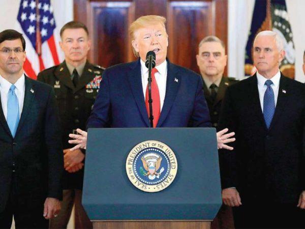 Trump busca diálogo, pero amenaza a Irán