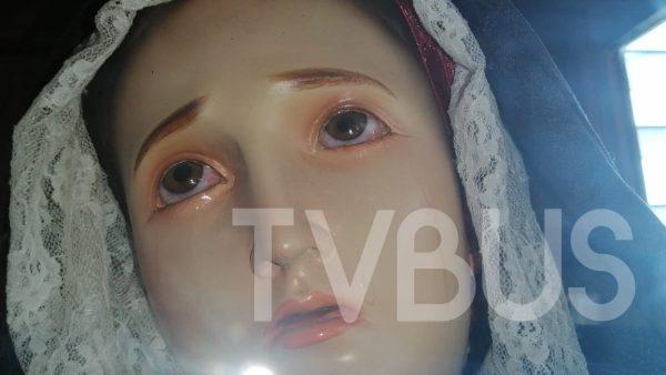 Llora la Virgen de Dolores en Cerro Armadillo