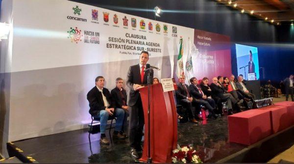Refrenda Alejandro Murat compromiso para fortalecer el Sureste del país