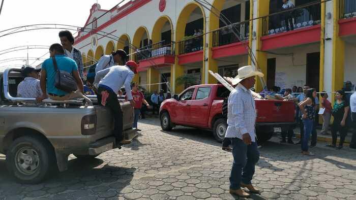CODECI toma palacio municipal de Tuxtepec, exige respuestas