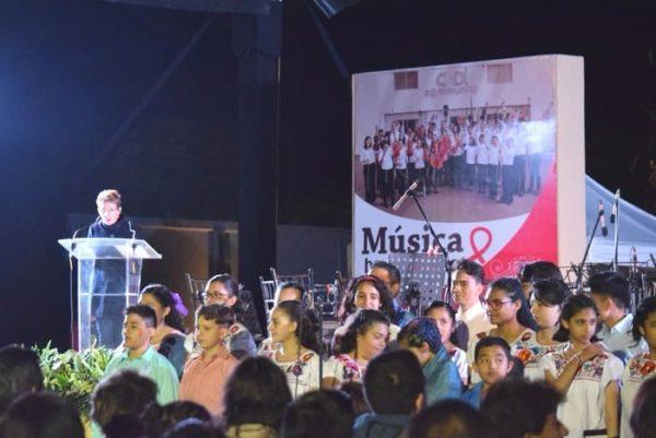 Ofreció Coesida concierto a beneficio de personas con VIH y Sida