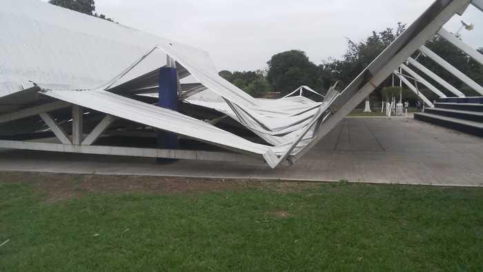 Vientos generados por el FF 41 provoca daños en Oaxaca: CEPCO