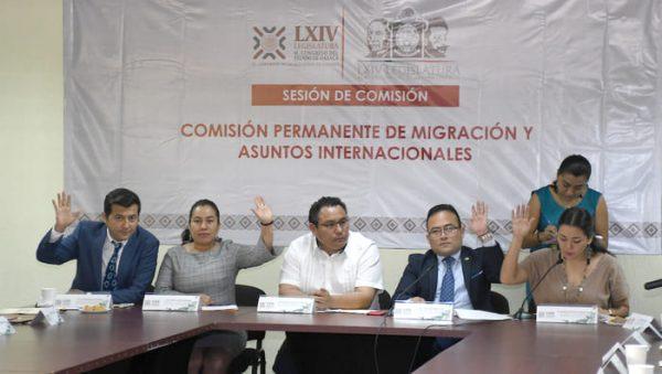 Congreso Local instala Comisión Permanente de Migración y Asuntos Internacionales