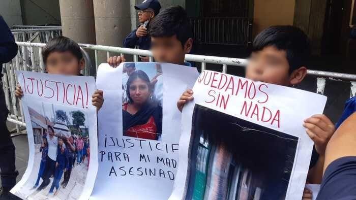 Huérfanos piden no liberar al presunto asesino de sus padres