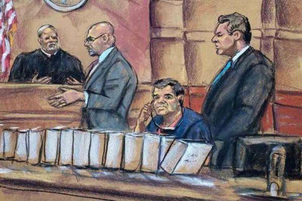 Liberan a testigos clave en juicio contra 'El Chapo'