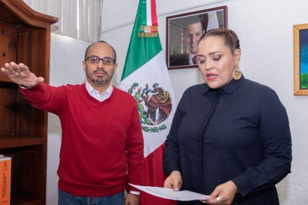 Toma Seculta protesta a nuevo director de la Casa de la Cultura Oaxaqueña