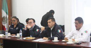 Acuerdan acciones SSPO y autoridades municipales para fortalecer seguridad en Cuenca y Cañada