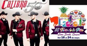 Oficial! Cartelera artística de la Feria de la Piña 2020