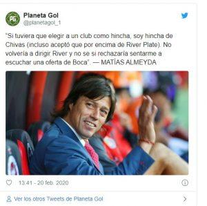 Chivas: Matías Almeyda le da la espalda al Guadalajara y a la Liga MX