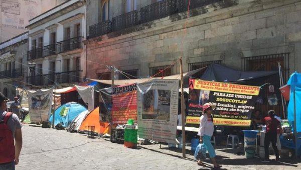 Se cumplen 100 días del violento desalojo en Lomas del Quio, Xoxocotlán