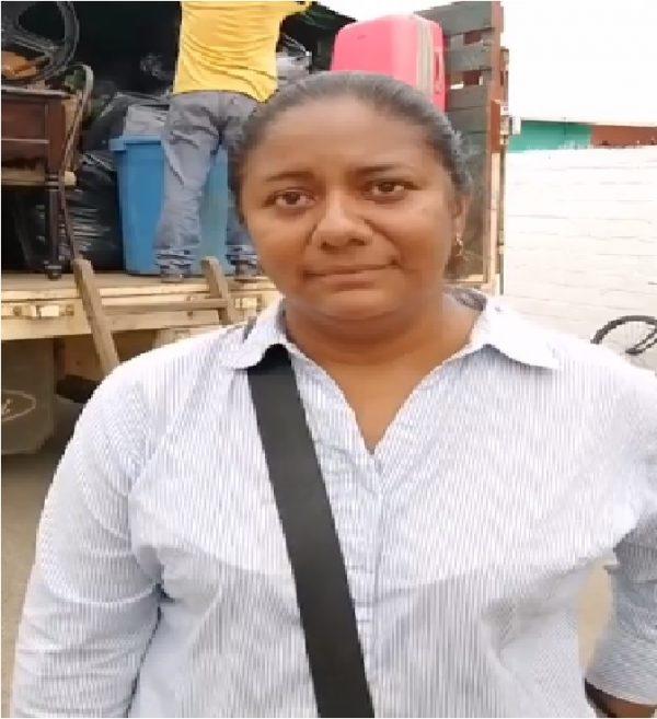 Lilia López Diosa Centeotl 2019, es desalojada de su domicilio