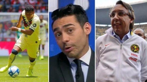 Rubén Rodríguez afirmó que Emilio Azcárraga ordena que Roger Martínez no juegue más en América