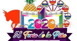 Del 16 al 24 de Mayo se realizará la Feria de la Piña 2020