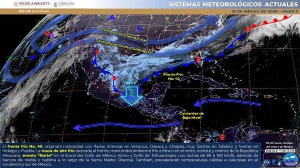 Se prevé Evento de Norte, lluvias y tolvaneras en Oaxaca: CEPCO