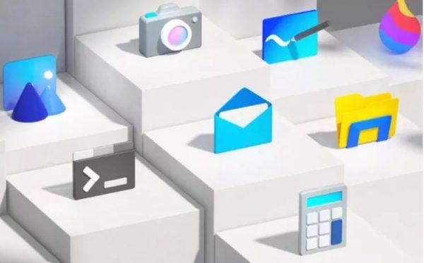 Microsoft lanza los nuevos íconos de Windows 10, y así es como lucen