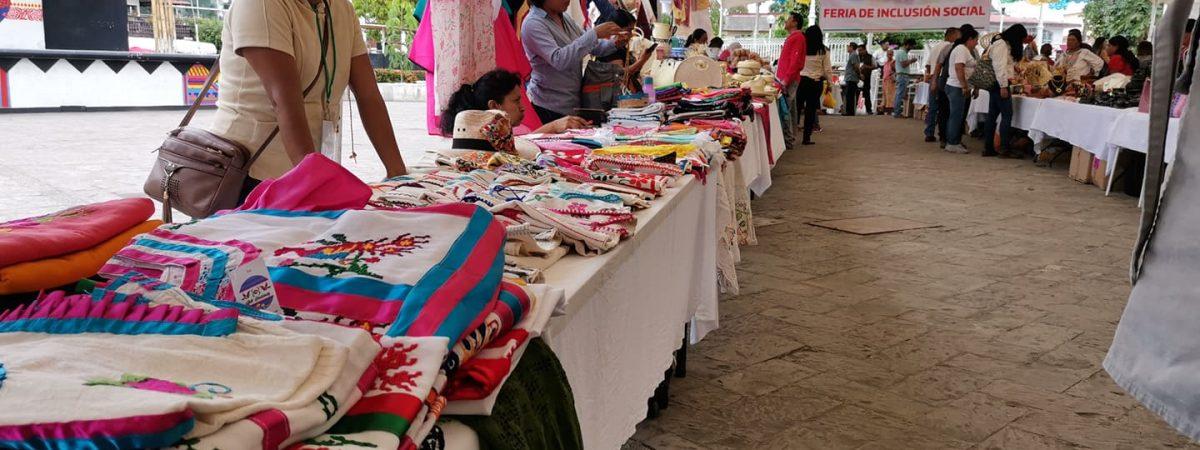 Esperan realizar en este 2020, 25 Ferias de la Inclusión en Oaxaca