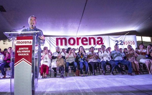 MORENA debe estar más presente que nunca ante tantos flagelos: Ramírez Cuellar en Oaxaca