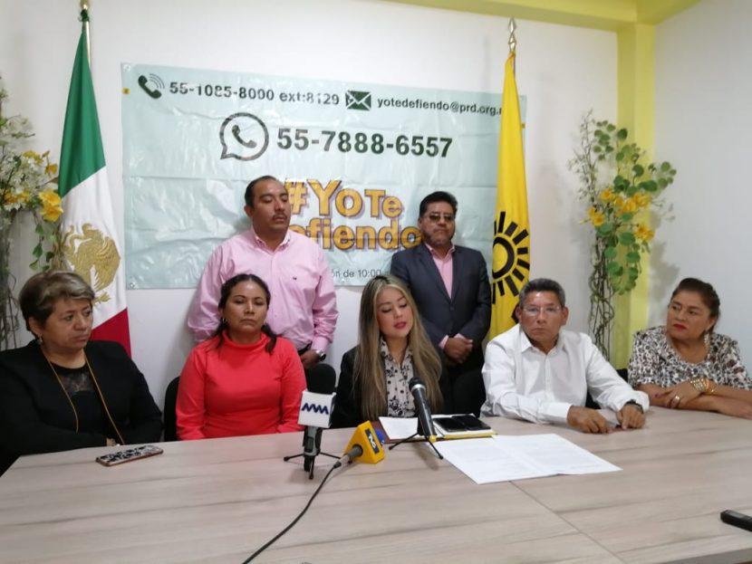 El PRD Oaxaca, lanza campaña contra el sistema de Salud federal