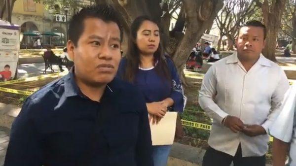 Síndico y regidores de Santiago Suchilquitingo señalan a su presidente de corrupto
