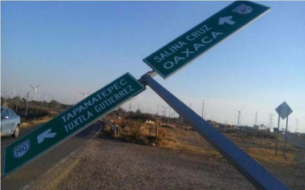 Activan alerta por fuertes vientos en el Istmo de Oaxaca; reportan accidentes