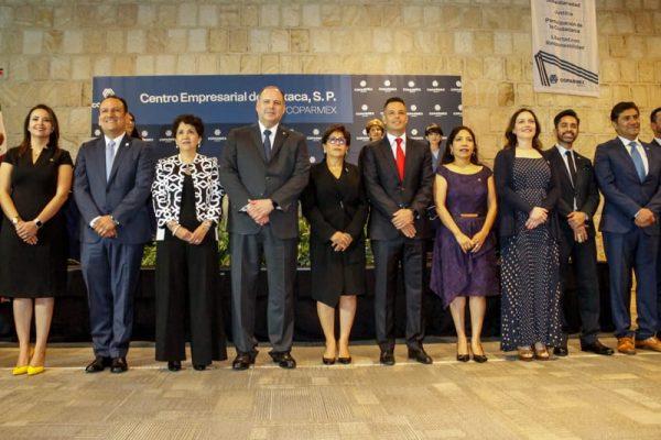 Respalda AMH al sector empresarial para que Oaxaca avance