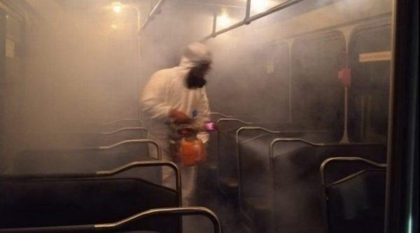 Pedirán a transportistas de Tuxtepec, desinfectar unidades