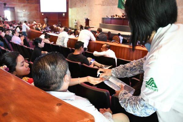 Congreso Local se suma a la Jornada Nacional de Sana Distancia