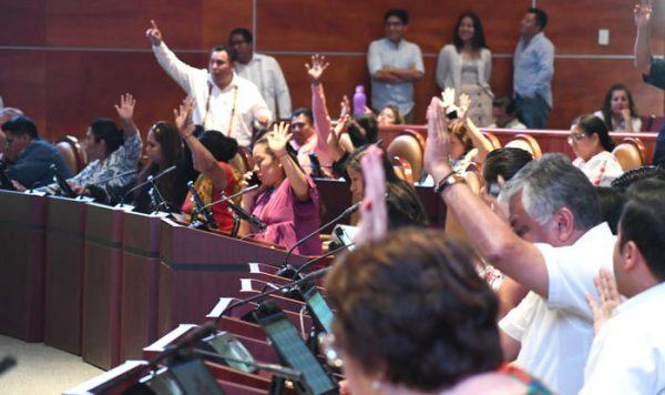 Congreso de Oaxaca, eleva a rango Constitucional programas de bienestar social