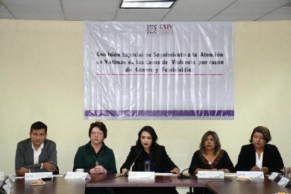 Instaló Congreso Local la Comisión Especial de Seguimiento a la Atención de Víctimas de Casos de Violencia por Razón de Género y Feminicidios