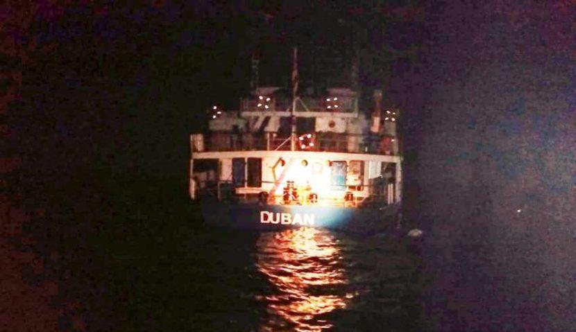 Huatulco: Mil quinientas toneladas de cemento cayeron al fondo del mar