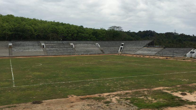 Avances del 90 porciento en estadio para final del torneo de barrios