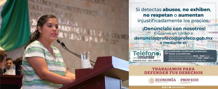 Llama Laura Estrada a empresas, a ser solidarias con el pueblo tuxtepecano
