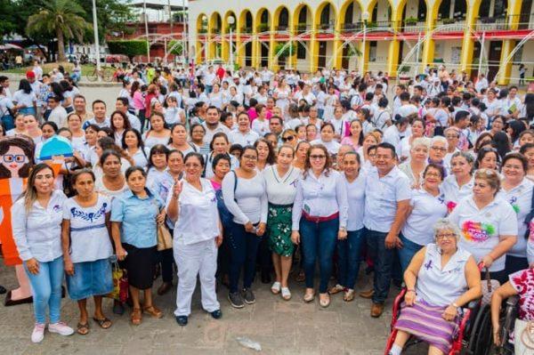 Tuxtepecanas marchan y unen voces fortaleciendo lucha por la igualdad de género