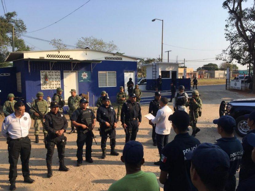 Asume SSPO coordinación de las policías municipal y vial de Loma Bonita
