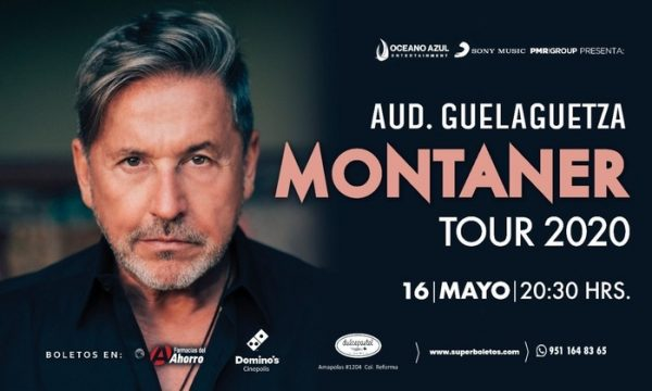 En Mayo, Ricardo Montaner en Oaxaca en el Auditorio Guelaguetza