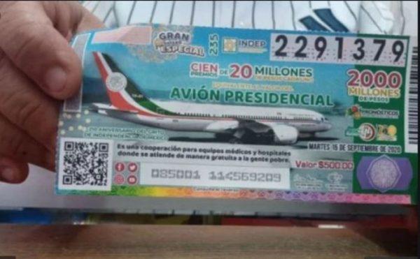 Inicia venta de boletos de la rifa del avión presidencial en Oaxaca